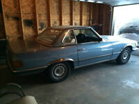 1973 Mercedes-Benz 350SL Convertable ,,,4-speed manual  RARE