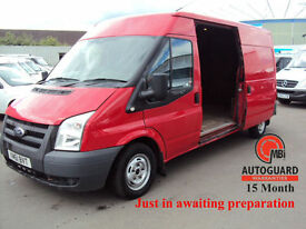 2012 FORD TRANSIT 2.2TDCi DURATOR ( 115PS ) T300L DIESEL RED( Med Roof ) 300 LWB