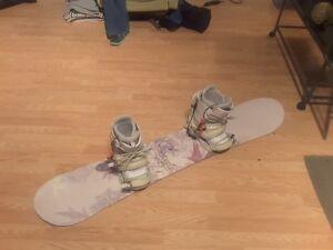 snow board with boots and helmet Oakville / Halton Region Toronto (GTA) image 1