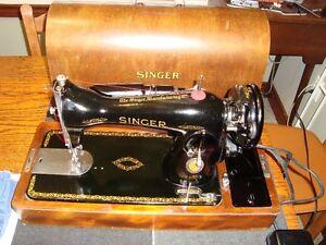 1951 SINGER CENTENNIAL MODEL 15-90 RARE EXPORT MODEL
