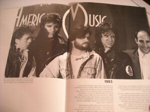 "John ""Cougar"" Mellencamp Booklet by Robus Books from 1985 Peterborough Peterborough Area image 8"