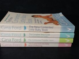 Baby Care - Gina Ford book collection. 4 books