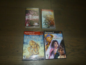 Classic Final Fantasy Game bundle with FF XII(sealed)