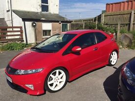 **HONDA CIVIC TYPE R GT LOW MILEAGE 60k**