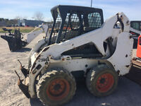 Bobcat S185 with accessories