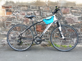 SUPER CARRERA CROSSFIRE. FULLY WORKING ADULT BIKE NO RUSTY FREE DELIV