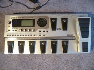 BOSS - GT-10 | Guitar  Multi - Effects Processor London Ontario image 1