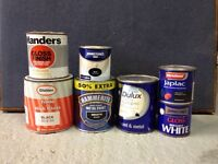 Free wood stain, paint etc.