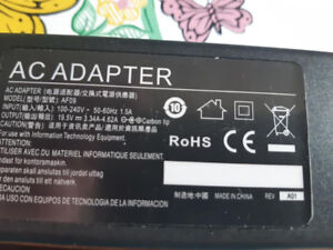 POWER CORD FOR A DELL LAPTOP