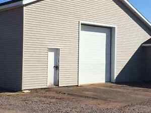 Contractor storage/ shop space for rent in Borden