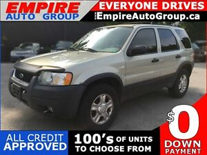 2004 FORD ESCAPE XLT * 4WD * PREMIUM CLOTH SEATING * POWER GROUP