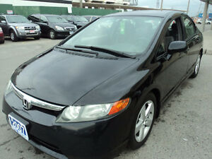 2007 Honda Civic LX Sedan/Clean carproof/Certified