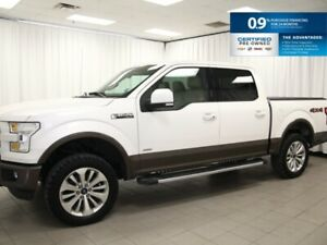 2016 Ford F-150 Lariat - Leather, Sunroof, NAV, SYNC, Bluetooth.