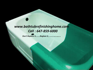bathtub reglazing,refinishing,resurfacing,repair,redo