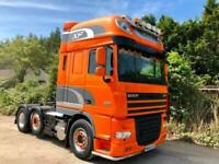 Used, DAF XF105,460 TRACTOR UNIT 6X2 44TON AIR-CON ALLOYS SLIDING 5TH WHEEL EXCELLENT for sale  Weston-super-Mare, Somerset