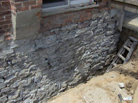 Foundation Repairs - Water Proofing - Concrete Parging & Cutting