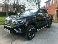 70 REG NISSAN NAVARA TEKNA PICK-UP TRUCK IN BLACK EURO 6.2