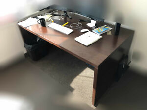 Wood Office Desks Office - Furniture Tables ($250 each)