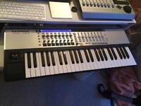 Novation 49 SL MK2 midi keyboard and controller