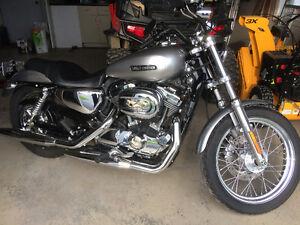 Moto Harley portster 1200XL 2011