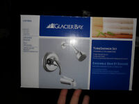 Glacier Bay Tub & Shower Set