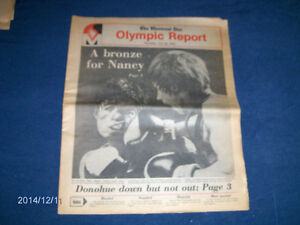 THE MONTREAL STAR OLYMPIC REPORT-7/22/1976-BRONZE FOR NANCY!