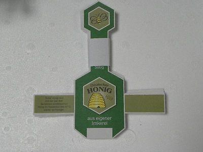 Etiketten,neutral,grün,naßklebend,Honig Imkerei, Imker,Aufkleber,bee,Bienen