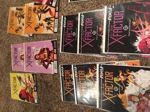 All new X factor lot NM unread