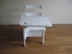 White School Desk