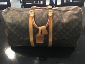 Louis Vuitton 100% Authentic Duffle Bag Gently Used