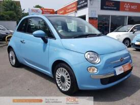 FIAT 500 LOUNGE 2014 Petrol Manual in Blue