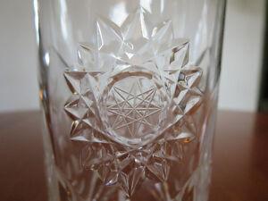 Verres en cristal Pinwheel (Pinwheel crystal) West Island Greater Montréal image 1