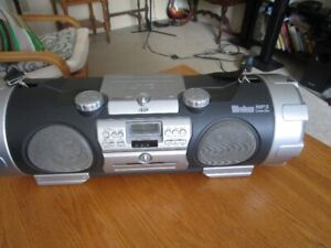 Vintage JVC Woofer Boombox With Electric Guitar Input