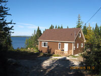 New cabin on Sandy Lake