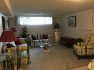 Spacious bright one bedroom basement available July 1st