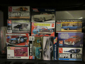 Wanted Plastic Model Collections