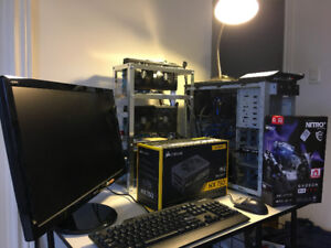 Earn a Passive Income - RX 580 8GB Mining Rig For Sale