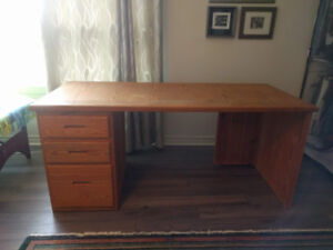 Desk from wood