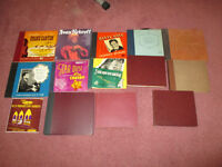 large lot of classical records, Bing Crosby, Danny Kay,