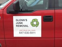 GLENN'S JUNK REMOVAL - Call Glenn at 647-530-5911