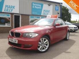 2008 BMW 120 2.0TD DIESEL LOW MILES 1 OWNER FROM NEW, RED