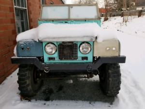 Land rover series modified