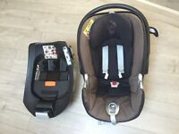 Cybex stage1 car seat and isofix base