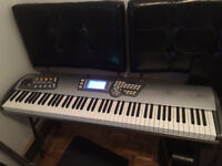 ALESIS FUSION 8HD SYNTH WORKSTATION SAMPLER RARE !!!!