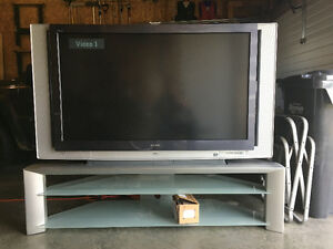 55 inch Sony Grand Wega High Definition TV and matching stand