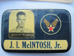 Antique WW2 American Pilot Badge Wings and Documents U.S. USA Strathcona County Edmonton Area image 2