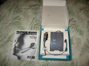 Telephone Headset Plantronics PLX-500