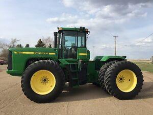 John Deere 9100 4WD Tractor for sale! ONLY 3,313 ORIGINAL HOURS!