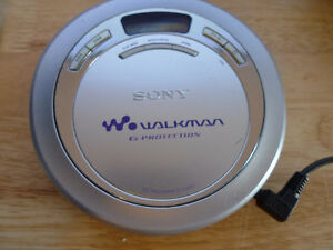 Sony Walkman D-EJ621 CD Compact Disc Player With G Protection