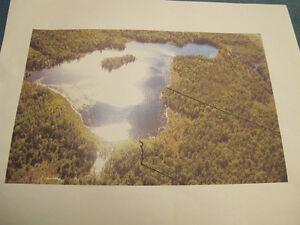 terre à bois à vendre à Labelle Laurentides avec lac